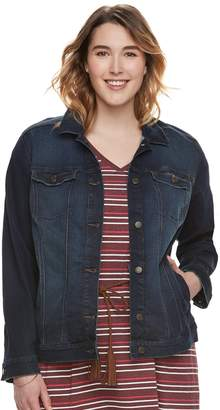 Sonoma Goods For Life Plus Size SONOMA Goods for Life Jean Jacket