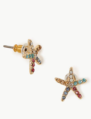 Marks and Spencer Starfish Stud Earrings