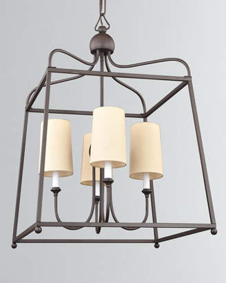 Sylvan 4-Light Dark Bronze Chandelier
