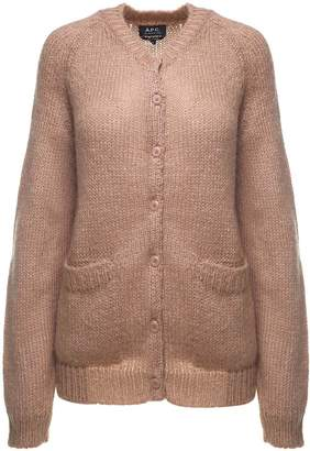 A.P.C. Jeanne Mohair-blend Cardigan