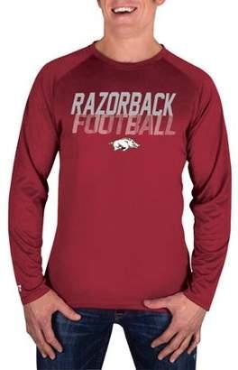 NCAA Arkansas Razorbacks Men's Long Sleeve Impact T-Shirt