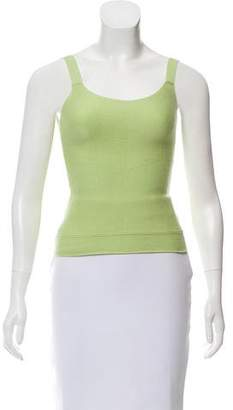 Calvin Klein Collection Sleeveless Cashmere-Blend Top