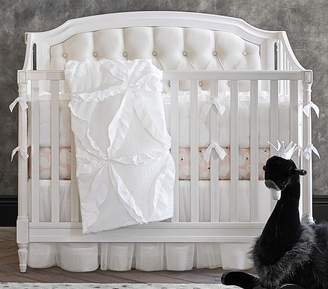 Pottery Barn Kids Nursery Bumper Bedding Set: Bumper, Crib Fitted Sheet & Crib Skirt