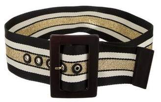 Alice + Olivia Striped Waist Belt w/ Tags