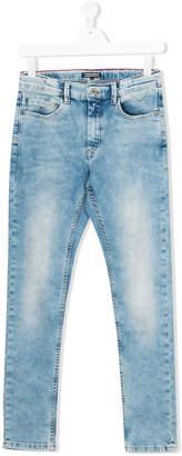Tommy Hilfiger Junior bleached effect jeans