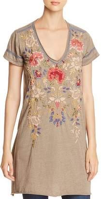 Johnny Was Simona Embroidered Tunic Dress