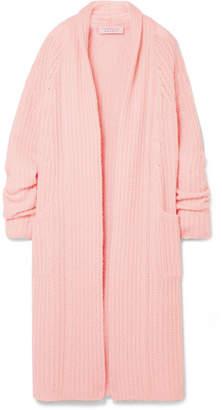Gabriela Hearst - Gunnersbury Cashmere And Silk-blend Cardigan - Pastel pink