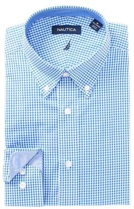 Nautica Gingham Classic Fit Dress Shirt