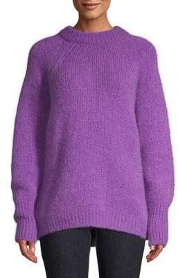 Sandro Brugane Oversized Textured Sweater