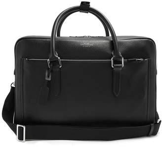 Smythson Burlington leather briefcase