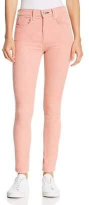 Rag & Bone High-Rise Corduroy Skinny Jeans in Cameo