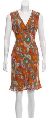 Diane von Furstenberg Silk Empire Dress