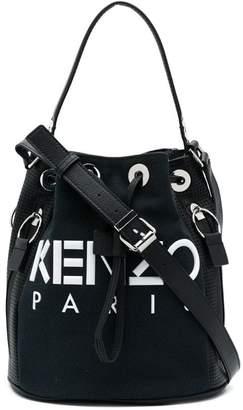 Kenzo logo bucket bag
