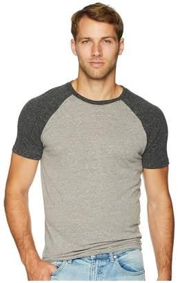 Threads 4 Thought Tri-Blend Short Sleeve Contrast Raglan Tee Men's T Shirt