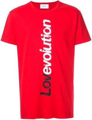 Ports V slogan short-sleeve T-shirt