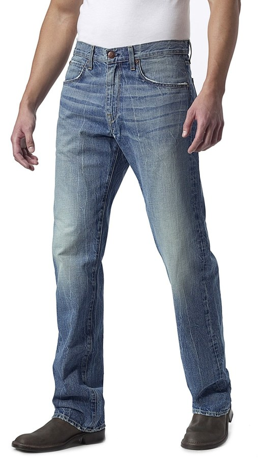 Waterman Agave Denim Zuma Vintage Jeans - Cotton, Relaxed Fit (For Men)
