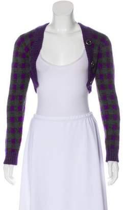 Miu Miu Virgin Wool Long Sleeve Shrug w/ Tags