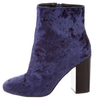 Rebecca MinkoffRebecca Minkoff Velvet Ankle Boots