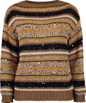 Brunello Cucinelli Knit Striped Sweater
