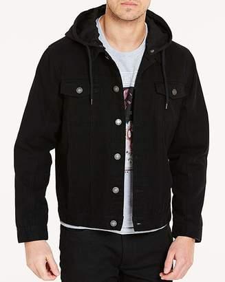 fbfb13097f Mens Hooded Denim Jacket - ShopStyle UK