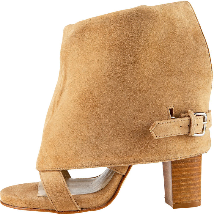 Opening Ceremony Two-Way Suede Bootie