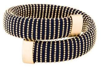 Carolina Bucci Navy Lurex Caro Bracelet