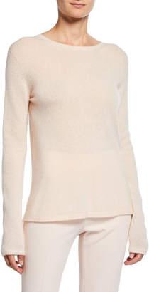 Max Mara Cashmere-Silk Crewneck Sweater