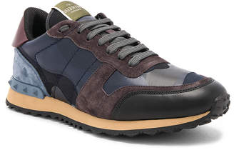 Valentino Camouflage Rockrunner Trainers