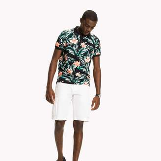 Tommy Hilfiger Floral Slim Fit Polo