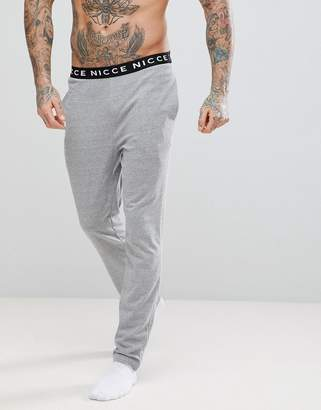 Nicce London lounge joggers with waistband