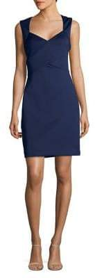 Eliza J Criss-Cross Sheath Dress