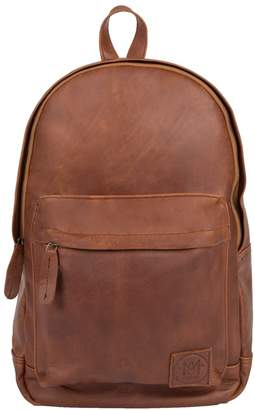 MAHI Leather - Leather Classic Backpack Rucksack In Vintage Brown