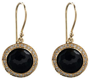 Ippolita Mini Lollipop Earrings, Onyx