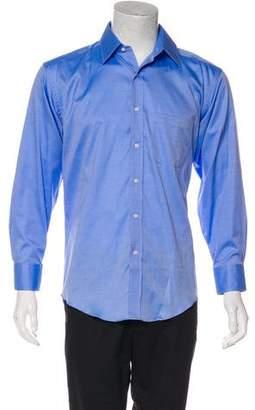 Saks Fifth Avenue Woven Dress Shirt w/ Tags