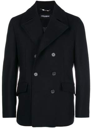 Dolce & Gabbana double breasted peacoat