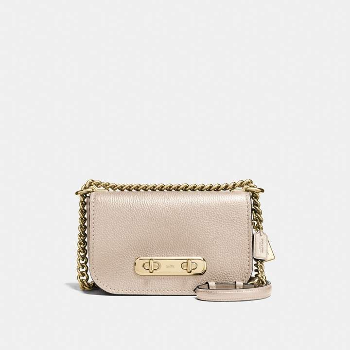 Coach Swagger Shoulder Bag 20 - LIGHT GOLD/PLATINUM - STYLE