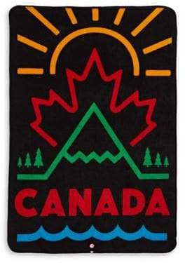 Canadian Paralympic Team Collection Canada Graphic Fleece Towel