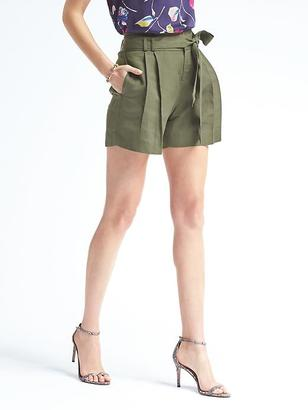Ryan-Fit Tied Short $58 thestylecure.com