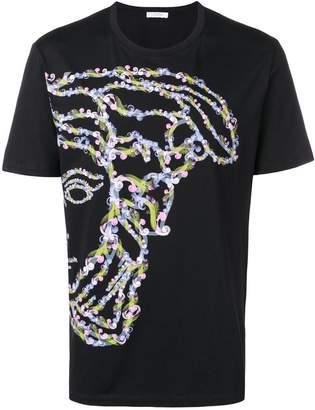 Versace half-Medusa print T-shirt