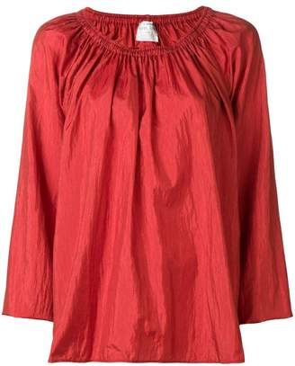 Forte Forte gathered balloon sleeve blouse