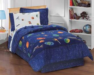 Factory Dream Outer Space Satellites Boys Comforter Set