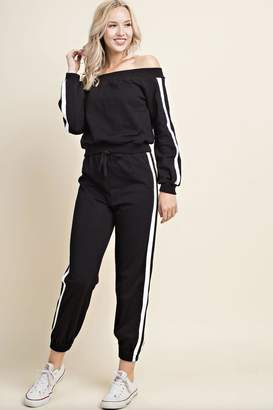 Wild Honey Black Sweat Pants