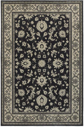 "Richmond Oriental Weavers Pira Charcoal/Ivory 1'10"" x 3' Area Rug"