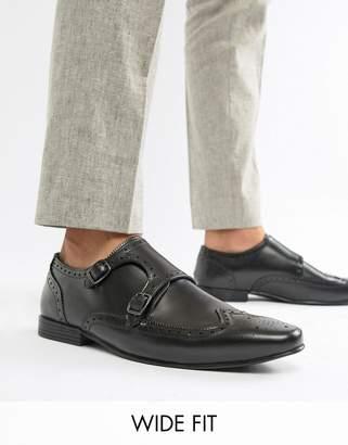 KG by Kurt Geiger KG Kurt Geiger Wide Fit Kilcardy Monk Shoes