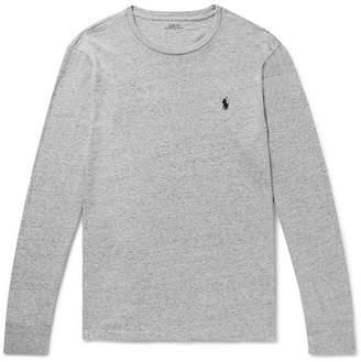 Polo Ralph Lauren Slim-Fit Mélange Cotton-Jersey T-Shirt