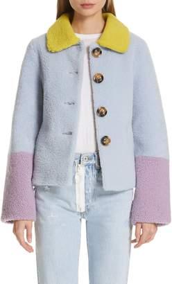 Saks Potts Lucia Genuine Shearling Jacket