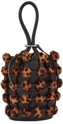 Alexander Wang Leopard Bucket Bag
