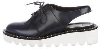 Stella McCartney Vegan Leather Slingback Platform Oxfords
