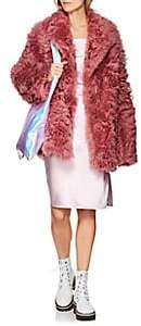 Pippa Sies Marjan Women's Shearling Peacoat - Rose