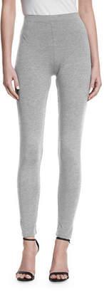 Joan Vass Full-Length Leggings, Plus Size